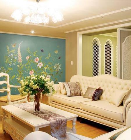 墙绘可以创造性的改善你的家